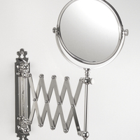 Concertina Shaving/Make-Up Mirror