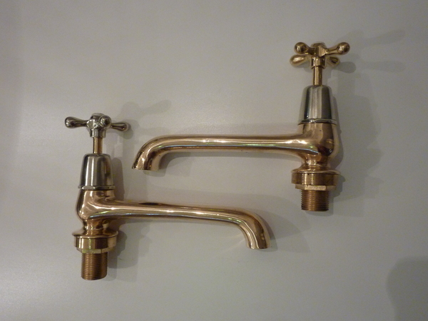 Long Reach Bath Taps by SHANKS & Co C.1930