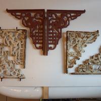 "Selection of Antique Cast Iron ""Cherub"" Cistern Brackets"