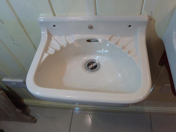 Tiny French Cloakroom Basin C.1930