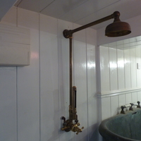 Edwardian Thermostatic  Wall Shower with Thermometer  C.1930