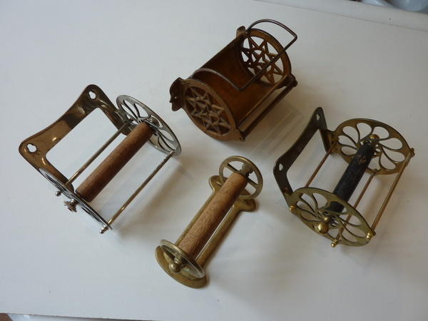 Original Vintage Roll Holders