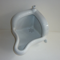 "Dutch Corner Urinal C.1930 by de ""SPHINX"" Maastricht"