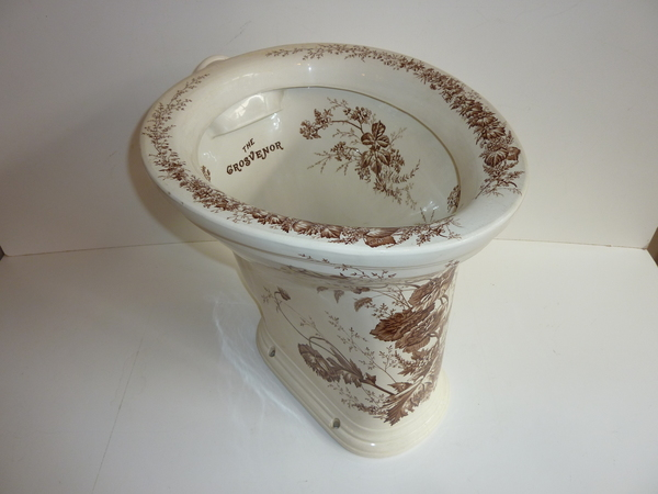 The 'GROSVENOR' Victorian WC C.1890