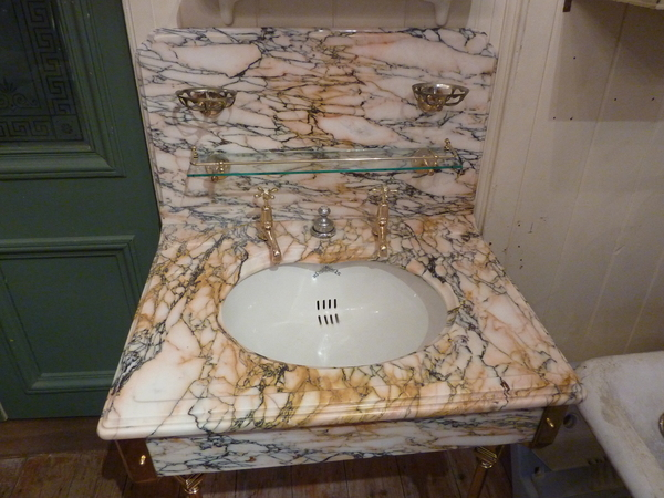 Vanity Marble Basin by Shanks C.1920