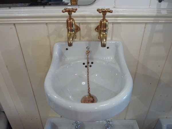 Very Small Vintage Cloakroom Basin C.1920