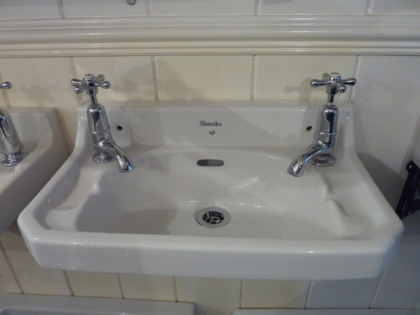 "Small ""SHANKS"" Cloakroom Basin C.1950"