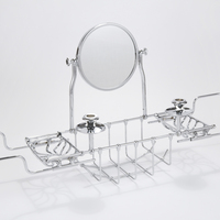 Extendable 'Edwardian' Bath Bridge with Mirror