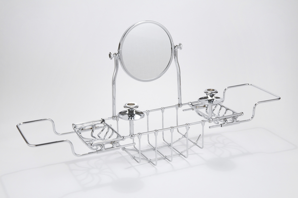 Extendable 'Edwardian' Bath Bridge with Mirroe