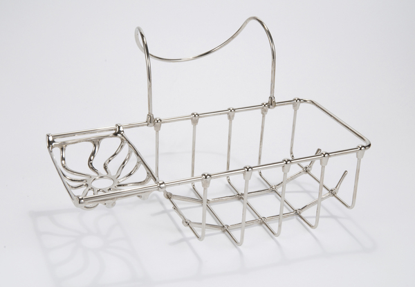 Side-Hanging 'Edwardian' Soap and Sponge Basket