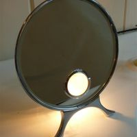 Illuminated electric Mirror by Harcourts of London C.1930