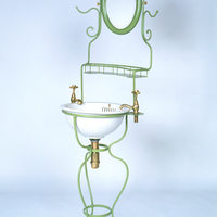 French Wrought Iron Washstand c.1850