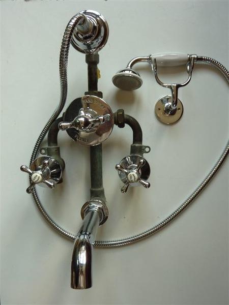 Shanks Concealed Bath/Shower Mixer C.1930