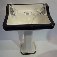"""""""Bristol Superius"""" Art Deco Basin & Ped C.1920"""