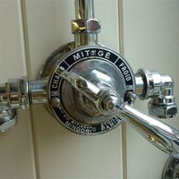 French Thermostatic Shower C.1920