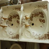Pair of Transfer Basins C.1890