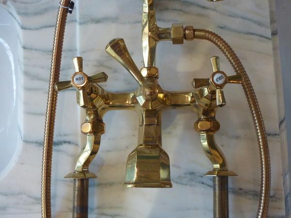 Art Deco Bath/Shower Mixer C.1930