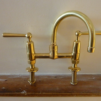 Kitchen Mixer With Levers C 1950