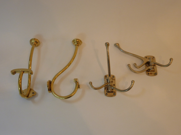 Antique Hooks for Towels or Robes C.1930