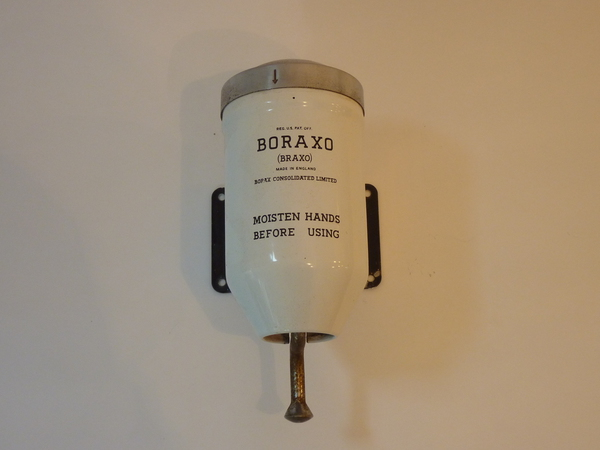 BORAXO Soap Dispenser C.1930