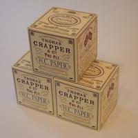 Boxed Thomas Crapper Toilet Paper