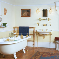 Victorian Bathroom Suite all by John Bolding of Davies St. London c.1890