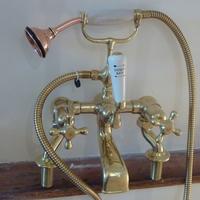 Heavy Cast Edwardian Bath/Shower Mixer