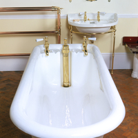 'Kenon' Plunger Waste Bath by J.Bolding c.1890