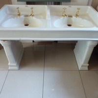 Victorian Double Basin by Doulton C.1890