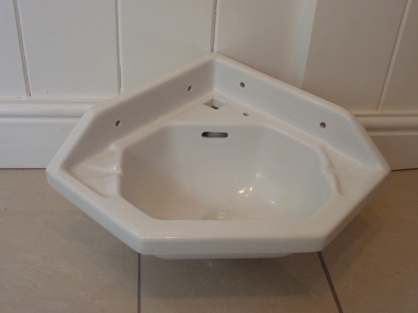 Small French Corner Basin C.1920