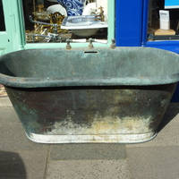 Early French Copper Bath C.1850