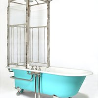Edwardian Antique Shower Bath by Shanks and Co c.1900