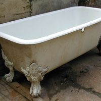 French Double-Ended 'Roman' Bath c.1870