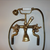 Bronze Finished Edwardian Mixer Tap