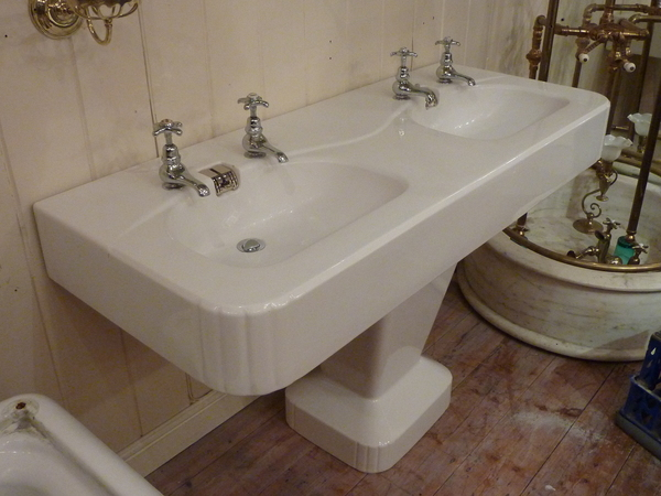1950s Double Basin by Porcher, Paris