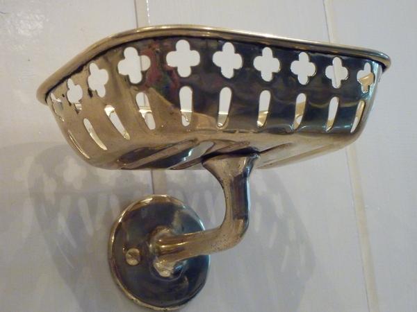 Pierced French Soap Dish C.1890